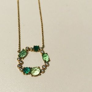 Anthropologie Infinity Birthstone Necklace - May